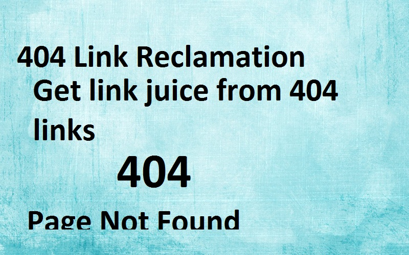 404 Link Reclamation