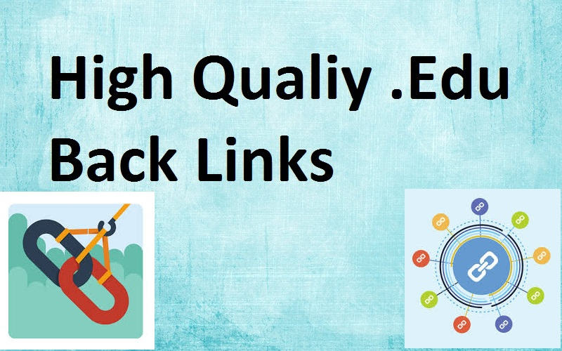 Edu Backlink development