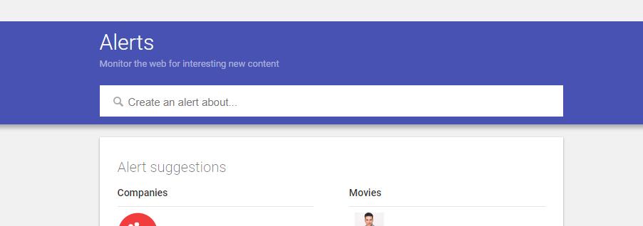 Google Alerts for Links